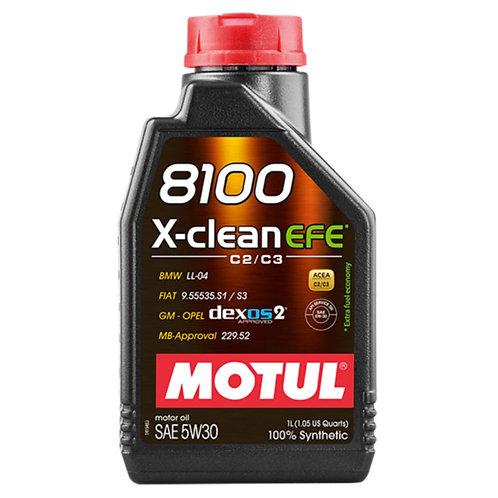 MOTUL 8100 X-CLEAN EFE 5W30 x1L