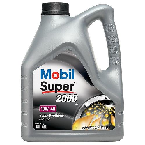 MOBIL SUPER 2000 X1 10W40 x4L