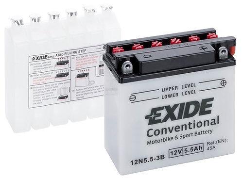 Акумулатор EXIDE Conventional 12N5.5-3B