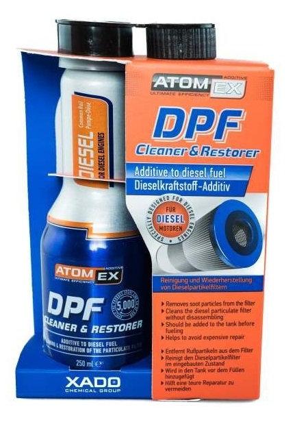 XADO ATOMEX DPF Complex Formula дизел 0.250L
