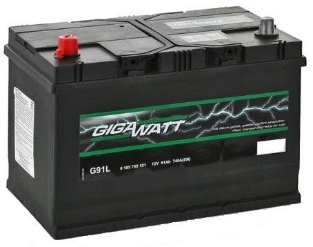 Акумулатор Gigawatt G91L
