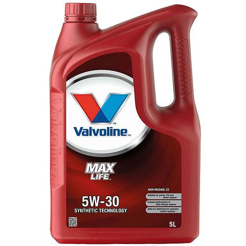 VALVOLINE MAXLIFE C3 5W30 x5L