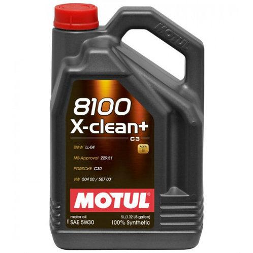 MOTUL 8100 X-CLEAN+ 5W30 x5L