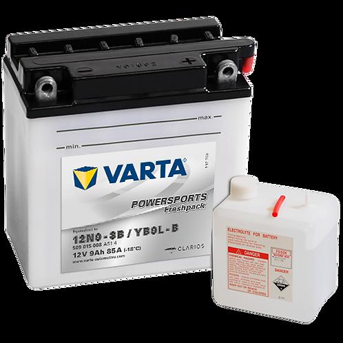 Акумулатор VARTA POWERSPORTS Freshpack 509 015 008 YB9L-B