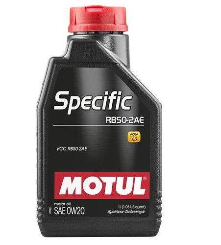 MOTUL SPECIFIC RBS0-2AE 0W20 x1L