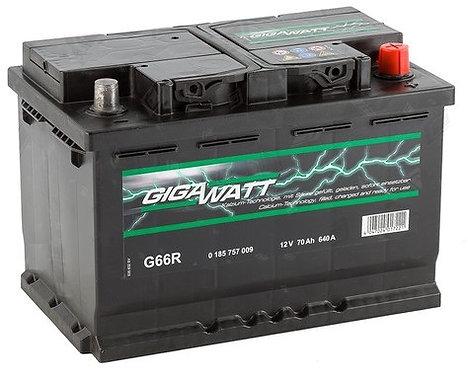 Акумулатор Gigawatt G66R