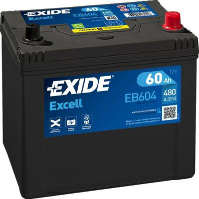 Акумулатор EXIDE Excell ** EB604