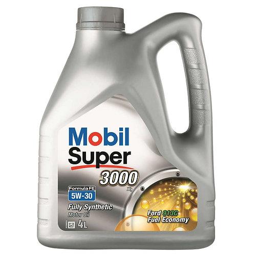 MOBIL SUPER 3000 FE 5W30 x4L