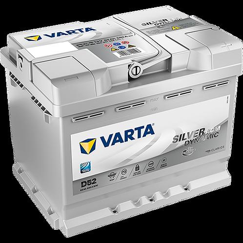 Акумулатор VARTA Silver Dynamic AGM 560 901 068