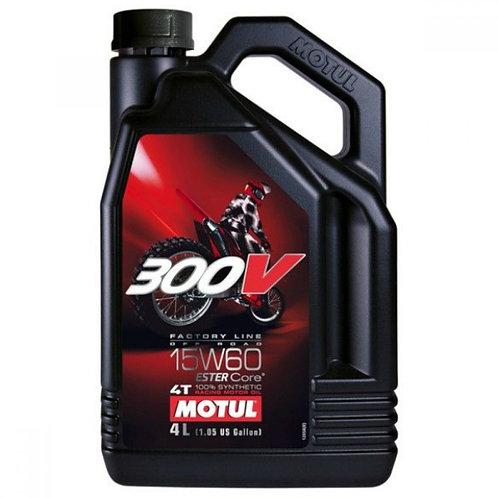 MOTUL 300V FL OFF ROAD 4T 15W60 x4L