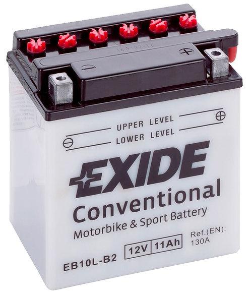 Акумулатор EXIDE Conventional EB10L-B2 YB10L-B2