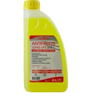 NORTH ANTIFREEZE S12+ (жълт) -76ºC x1L