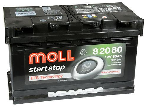 Акумулатор MOLL Start-Stop EFB 82080