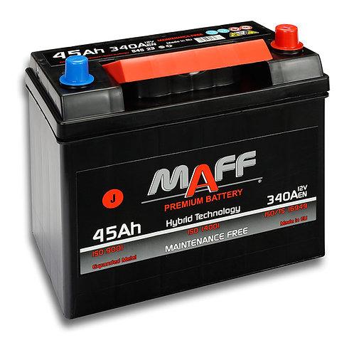 Акумулатор MAFF 54523 45Ah 340A