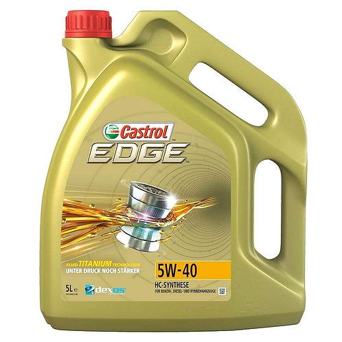 CASTROL EDGE TITANIUM 5W40 x5L