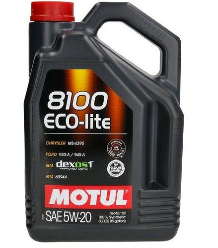 MOTUL 8100 ECO-LITE 5W20 x5L