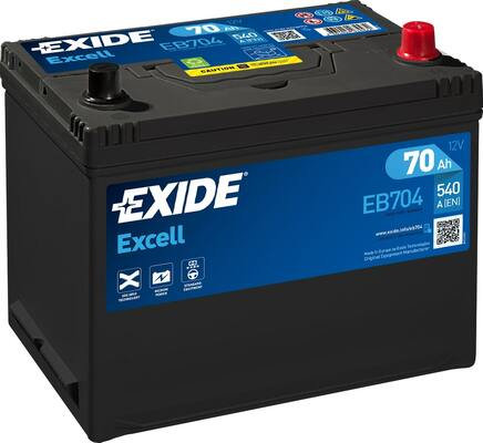 Акумулатор EXIDE Excell ** EB704