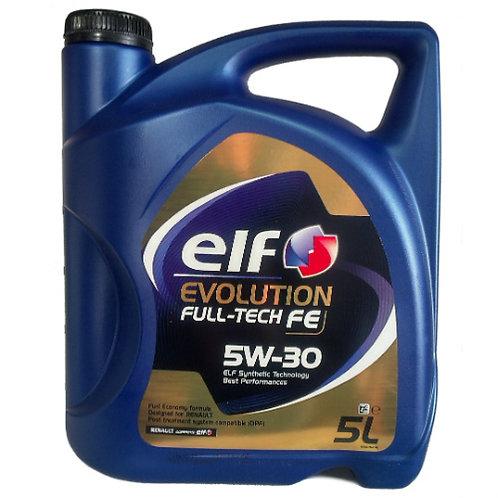 ELF EVOLUTION FULL-TECH FE 5W30 x5L