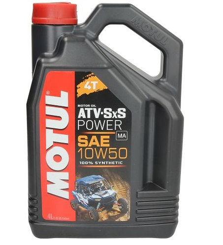 MOTUL ATV-SXS POWER 10W50 x4L