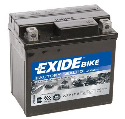 Акумулатор EXIDE Maintenance Free AGM 12-5