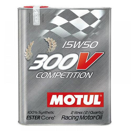 MOTUL 300V COMPETITION 15W50 x2L