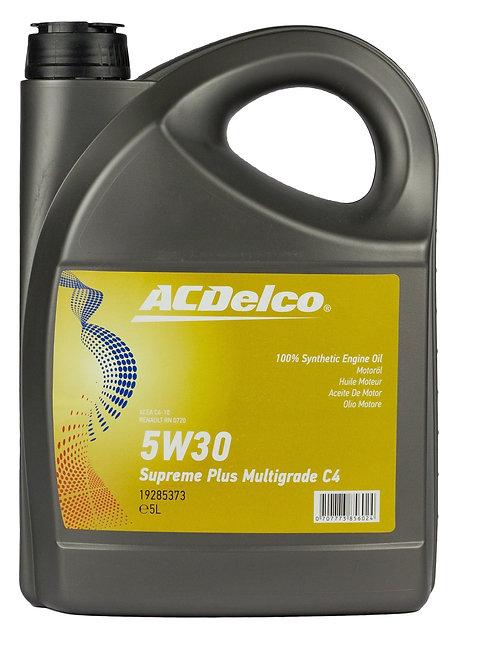 ACDelco 5W30 Supreme Plus Multigrade C4 x5L