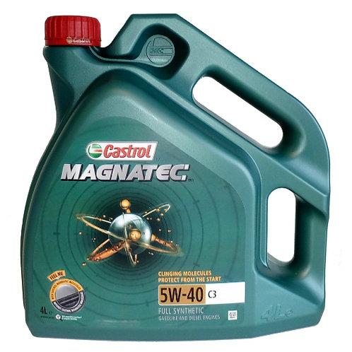 CASTROL MAGNATEC 5W40 C3 x4L