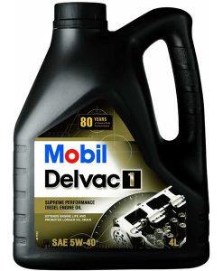 MOBIL DELVAC 1 5W40 x4L