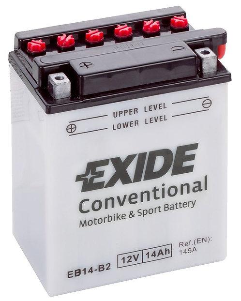 Акумулатор EXIDE Conventional EB14-B2 YB14-B22