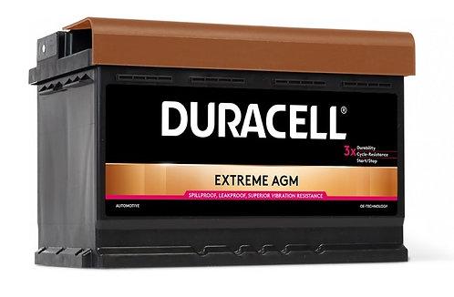 Акумулатор DURACELL EXTREME AGM DE 70