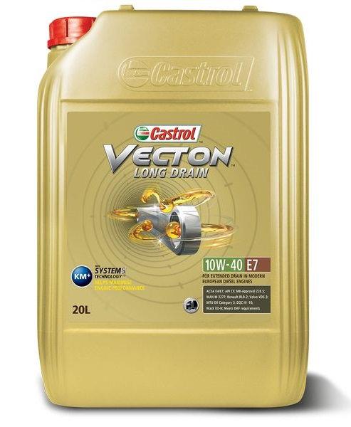 CASTROL VECTION LD E7 10W40 x20L