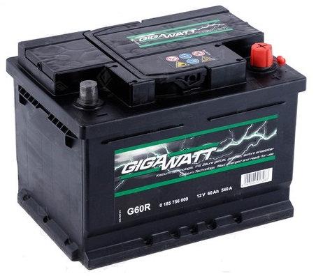 Акумулатор Gigawatt G60R