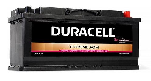 Акумулатор DURACELL EXTREME AGM DE 105
