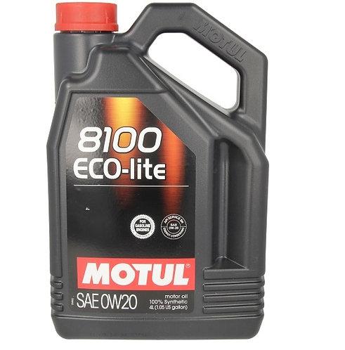 MOTUL 8100 ECO-LITE 0W20 x4L