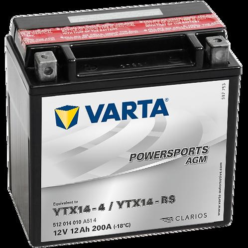 Акумулатор VARTA POWERSPORTS AGM 512 014 010 YTX14-BS