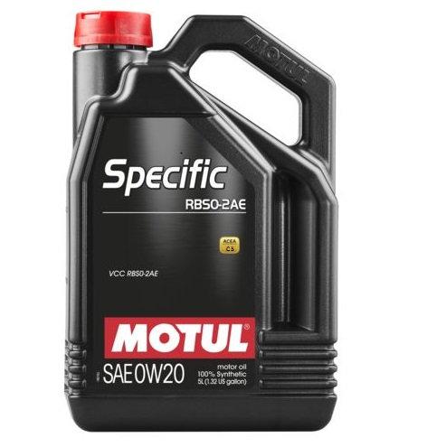 MOTUL SPECIFIC RBS0-2AE 0W20 x5L