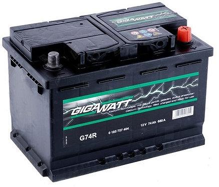 Акумулатор Gigawatt G74R