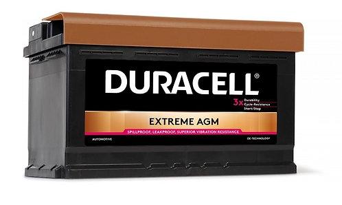 Акумулатор DURACELL EXTREME AGM DE 80
