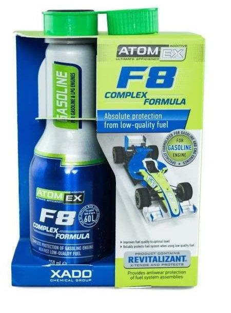XADO ATOMEX F8 Complex Formula бензин 0.225L