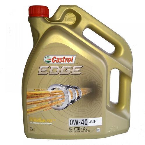 CASTROL EDGE TITANIUM FST 0W40 x5L