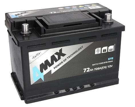 Акумулатор 4MAX BAT72/720R/EFB