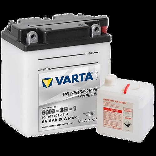 Акумулатор VARTA POWERSPORTS Freshpack 006 012 003 6N6-3B-1