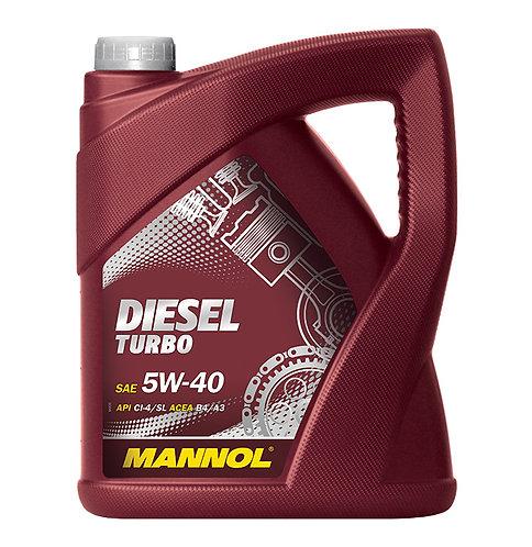 MANNOL DIESEL TURBO 5W40 x5L