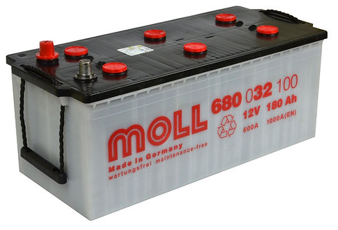 Акумулатор MOLL Kamina Truck SHD 680 032 100