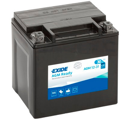 Акумулатор EXIDE Maintenance Free AGM 12-31