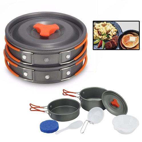 Набор походной посуды из 8 предметов
