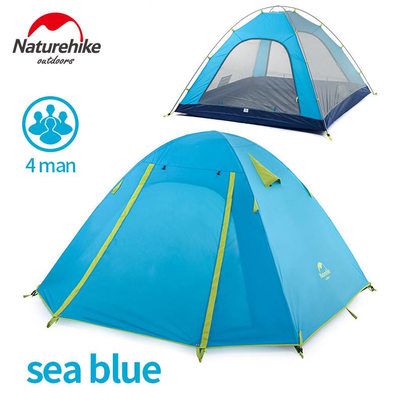 Палатка четырехместная NATUREHIKE
