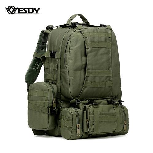 ESDY Армейский тактический походный рюкзак 50L   Олива