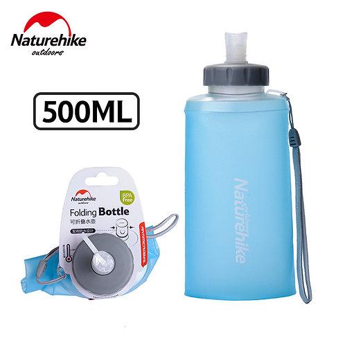 Складная силиконовая бутылка NATUREHIKE | 500 мл