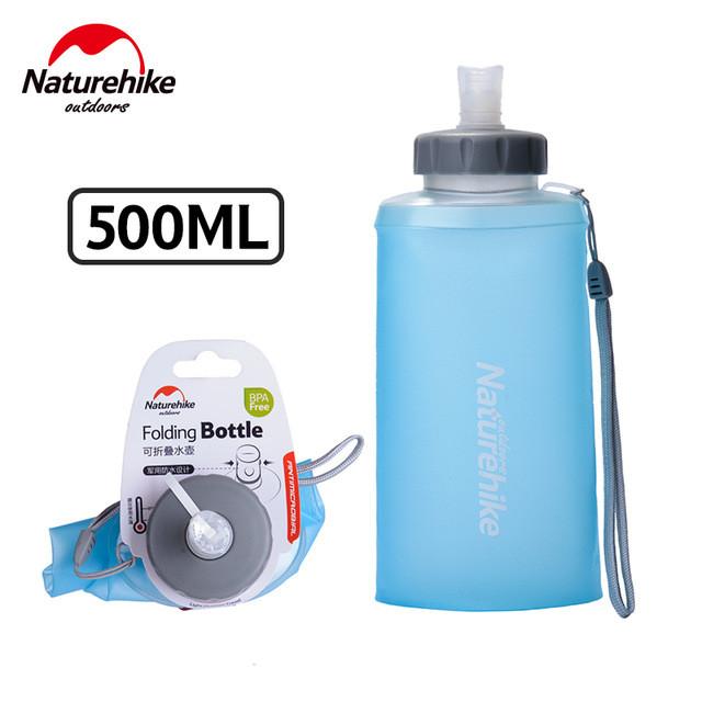 Складная силиконовая бутылка NATUREHIKE